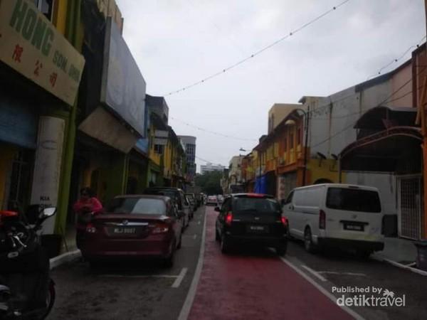 Menyusuri lorong-lorong jalanan di Seremban.