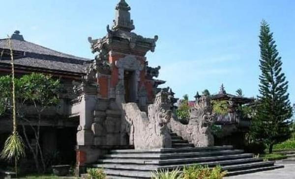 Potret indahnya bangunan Taman Budaya Bali