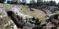 Roman Ampitheater yang dibangun pada abad ke 2. Digunakan para gladiator untuk bertarung melawan hewan buas seperti singa