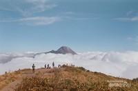 Lautan awan ini mampu memesona pendaki