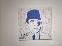Lukisan Soekarno menangis menjadi perhatian ketimbang dengan tokoh lain