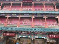 Gaya bangunan Dinasti Qing di Jalan Qianmen