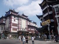 Uniknya bangunan-bangunan di kawasan Lishui Road.