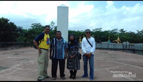 Suhu udara di Semarang yang memang panas menambah suasana makins erasa di Aran Saudi.