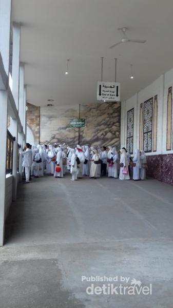 Replika Marwah di Fatimah Zahra.