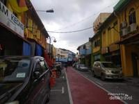 Suasana lorong-lorong kota Seremban.