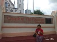 Salah satu bangunan sejarah Church of Visitation Seremban