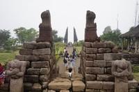 Candi Cetho merupakan kompleks peninggalan zaman Majapahit.