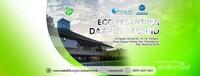 Salat dengan protokol kesehatan di Eco Pesantren Daarut Tauhid. Sumber: dokumentasi pribadi