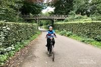 Senangnya bersepeda menyusuri alam perdesaan