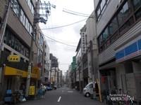 Potret lorong-lorong di kawasan Tanimachi.