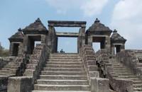 Gapura berundak di Situs Ratu Boko