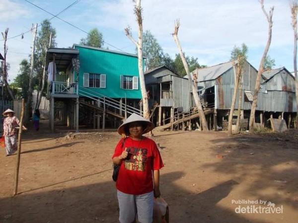 Potret Kampung Cham, Chau Doc.