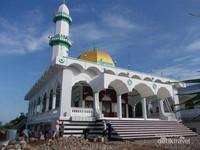 Sebuah masjid di kampung Cham