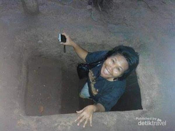 Keluar dari terowongan Chu Chi