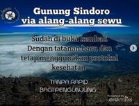 Dari instagram @alangalangsewu Gunung Sindoro