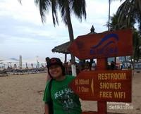 Petunjuk fasilitas pantai.