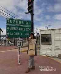 Papan Petunjuk Ushuaia