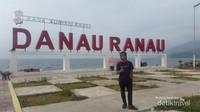 Fasilitas Danau Ranau saat ini masih dalam proses pembangunan.