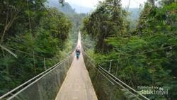 Sukabumi Punya Jembatan Gantung Terpanjang di Asia Tenggara