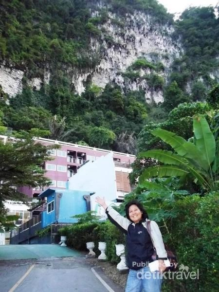 Ao Nang mountain View resort.