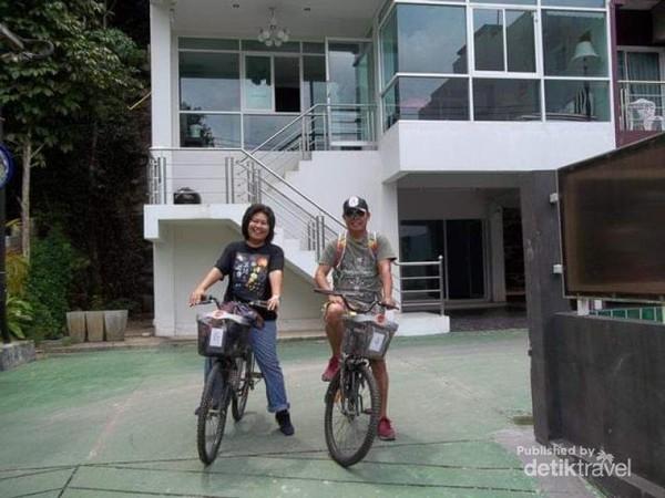 Siap menjelajah Ao Nang.
