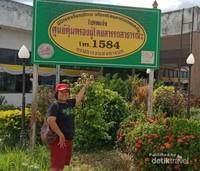Di salah satu perempatan jalan Nong Bua Lamphu