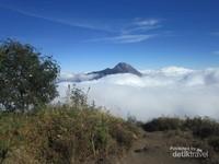 Gunung Merbabu mempunyai 3 puncak, yaitu: Triangulasi, Kenteng Songo dan Syarif.