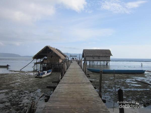 Daya tarik Desa ini adalah melihat berbagai jenis burung cenderawasih, memberi makan ikan di pesisir pantai, snorkeling dan diving.
