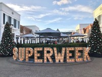 Suasana superweek menjelang Black Friday yang begitu sepi