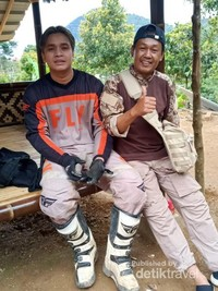 Team offroad motor trail Billy Syaputra