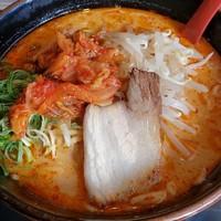Ramen Kimchi pedes dari Resto Ramen Fukutoku