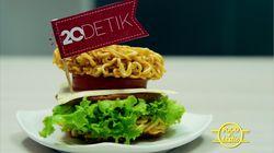 Gurih Renyah Mie Burger