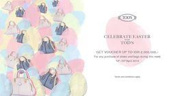 Tods Easter Promo
