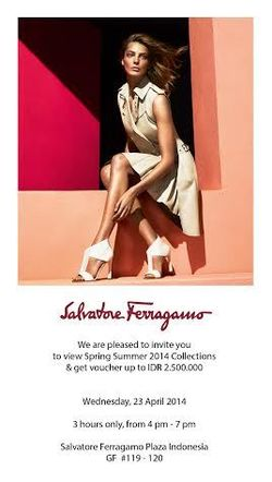 Ferragamo Private Gathering Event 23 April 2014