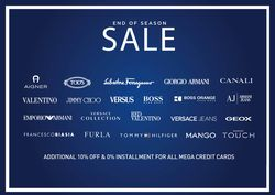 Salvatore Ferragamo End of Season Sale