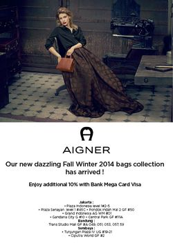 Aigner New Arrival Sale Up to 10% Off