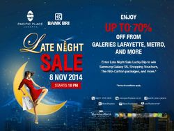 Pacific Place Late Night Sale Up To 70%