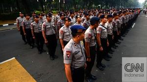 Kuis Berhadiah ala Polisi di Sela Pengamanan Sidang MK