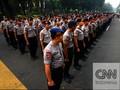 Ratusan Ribu Personel Gabungan Amankan Pilgub Jatim