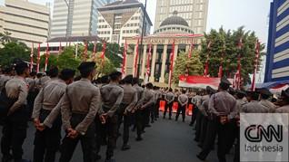 Polri Tidak Tahu Tersangka Hoaks Demo MK Dijerat Beleid Uzur