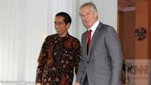 Tony Blair Temui Jokowi pada 28 Februari Urusi Ibu Kota Baru