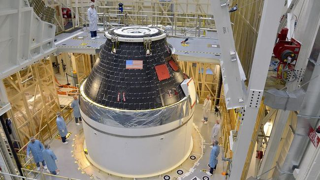 Lockdown Fasilitas Imbas Corona, Misi NASA ke Bulan Tertunda