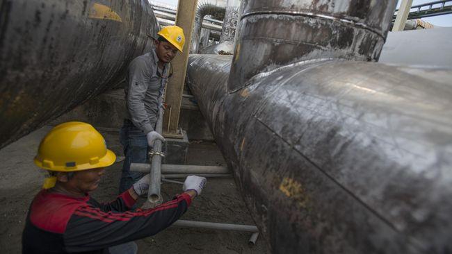 5 Kontrak Jual Beli Gas Diteken, Pemerintah Kantongi Rp 7,7 T