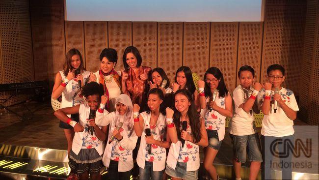 Duta Cinta, Persembahan Titiek Puspa untuk Anak Indonesia
