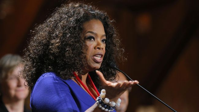 Oprah Winfrey Tak Menolak Rencana Pencalonan Presiden AS