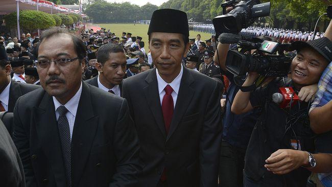 Jokowi Hadiri Peringatan Kesaktian Pancasila di Lubang Buaya