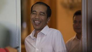 Canda Jokowi Tanya Jawab soal Ikan di Depan Ribuan Pengusaha