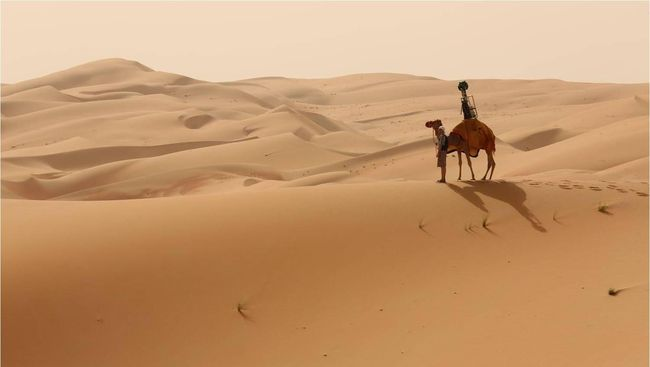 Di Uni Emirat Arab, Mobil Google Diganti Unta