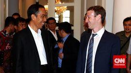 Jokowi dan Zuckerberg: Formal, Kasual, Santai